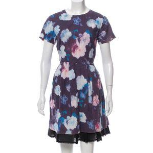 Cynthia Rowley Short-Sleeved Knee-length Dress